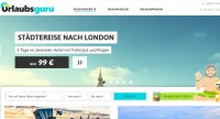 Urlaubsguru Homepage Screenshot